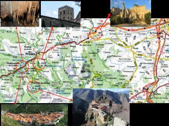 mapa itinerari