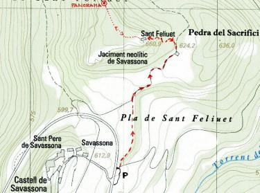 mapa S.Feliu de S