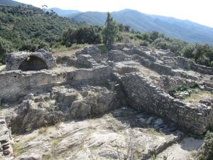 1639 Ruinas de Panissars, union de la Via Augusta con la Via Domitia